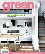 article on Fenwick House in Green Magazine on contemporary ways to renovate a weatherboard cottage